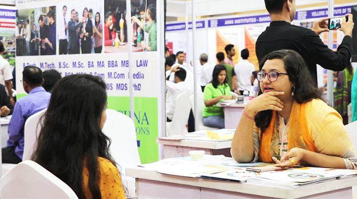 Indian Education Exhibition 2019 at BICC, Dhaka