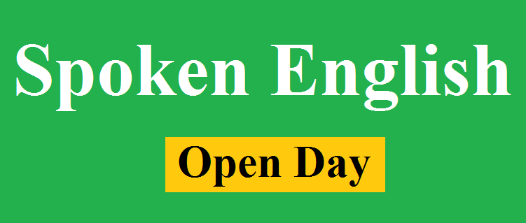 Spoken English Course Open Day