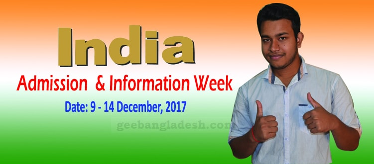 India-Admission and Information Week