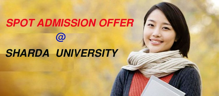Sharda University spot admission offer at Dhaka