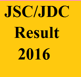 JSC and JDC exam result 2016