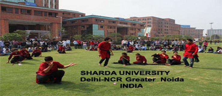 Sharda University admission 2016