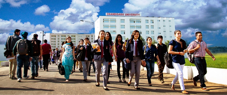 Foundation Course at Chandigarh University, India