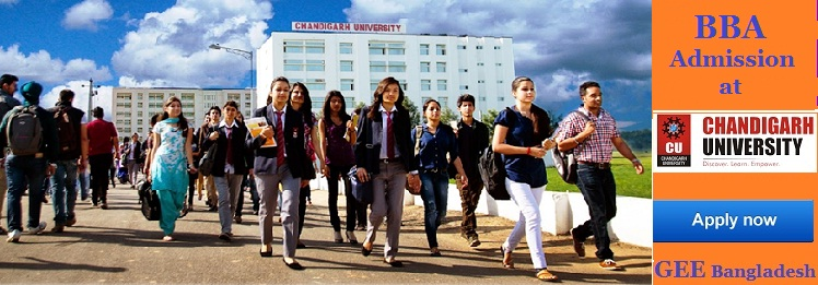 BBA admission at Chandigarh University, India