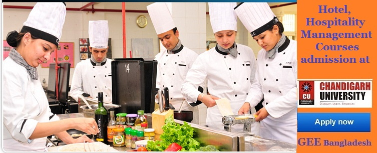 Hotel, Hospitality and Tourism Management admission at Chandigarh University, India