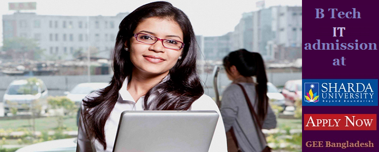 IT admission at Sharda University, India