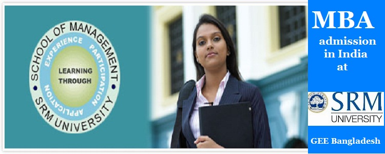 SRM University MBA admission 2016