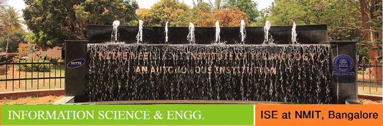 Information Science and Engineering admission at NMIT Bangalore India