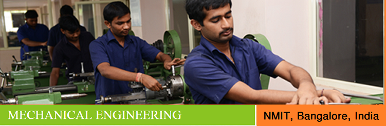 Mechanical Engineering admission at NMIT Bangalore India