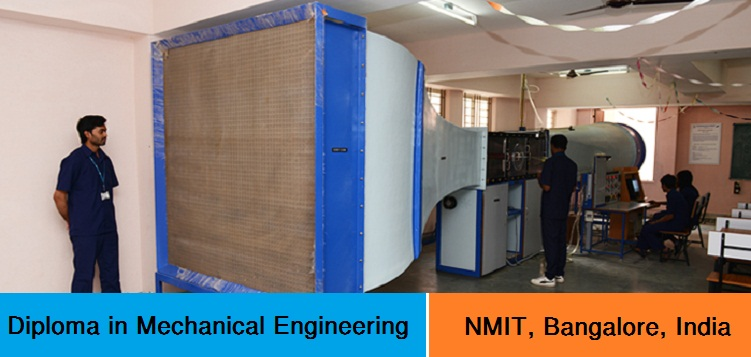 Diploma in Mechanical Engineering admission at NMIT Bangalore India