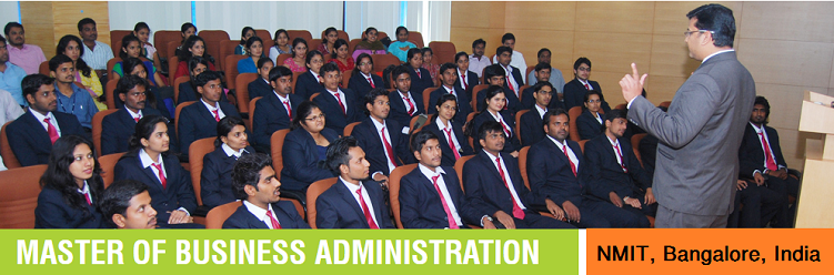 MBA admission at NMIT Bangalore India
