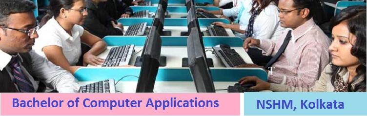 Bachelor of Computer Applications Admission at NSHM Kolkata