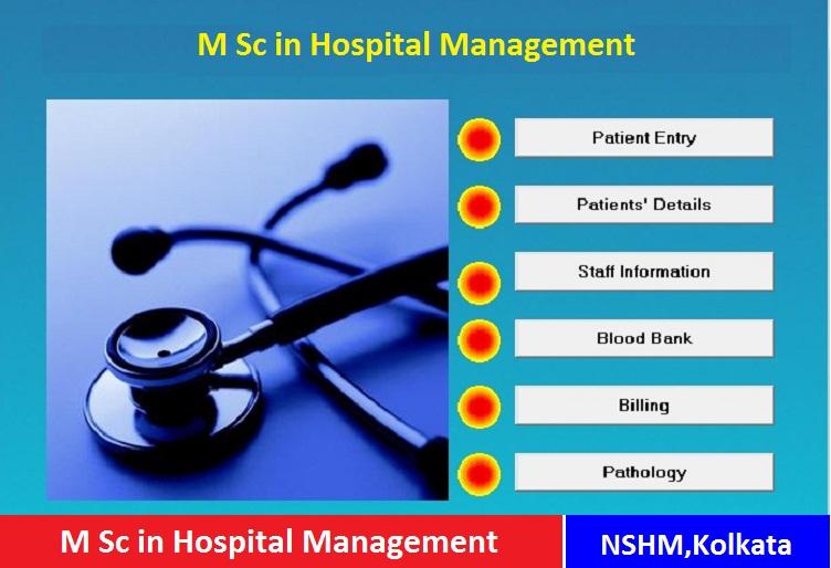 Masters in Hospital Management Admission at NSHM kolkata