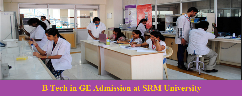 Genetic Engineering admission at SRM University
