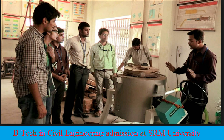 B Tech in Civil Engineering Admission at SRM University