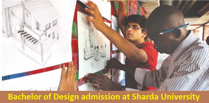 Bachelor of Design admission at Sharda University