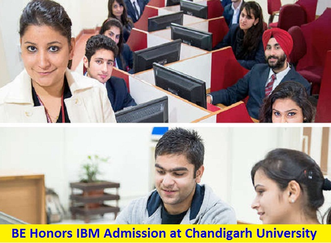 BE Honors IBM Cloud Computing Big Data Analysis Information Security Admission at Chandigarh University