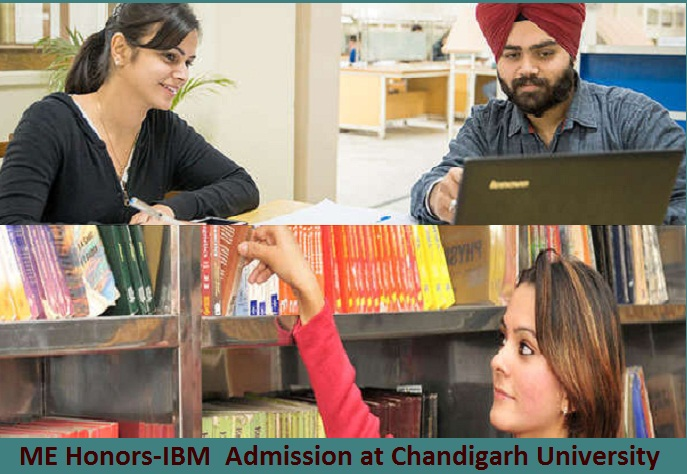 ME Honors IBM Cloud Computing Big Data Analysis Information Security Admission at Chandigarh University