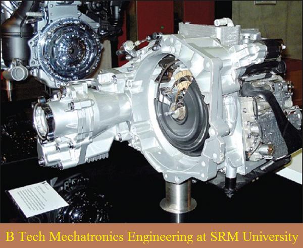 B Tech Mechatronics Engineering admission at SRM University