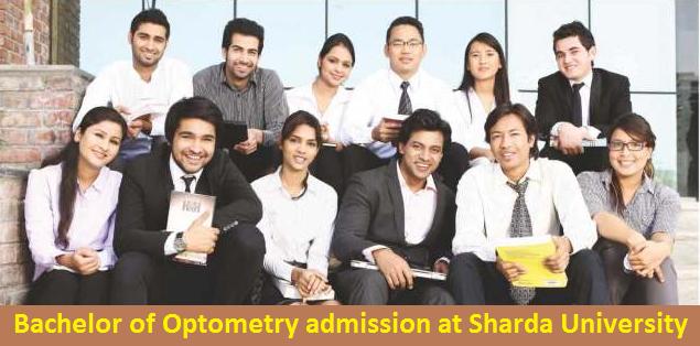 Bachelor of Optometry admission at Sharda University