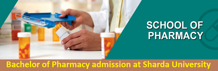 Bachelor of Pharmacy admission at Sharda University