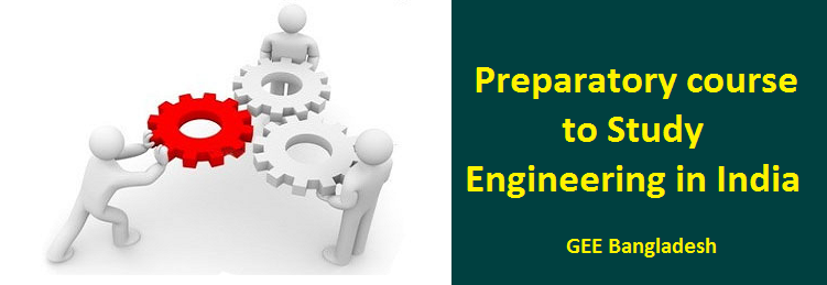 Engineering Preparatory courses to study in India
