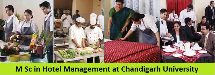 Master of Science in Hotel Management Admission at Chandigarh University
