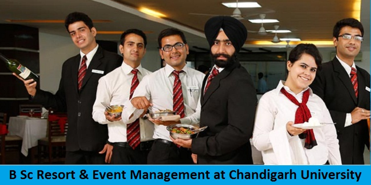 B Sc Resort and Event Management Admission at Chandigarh University