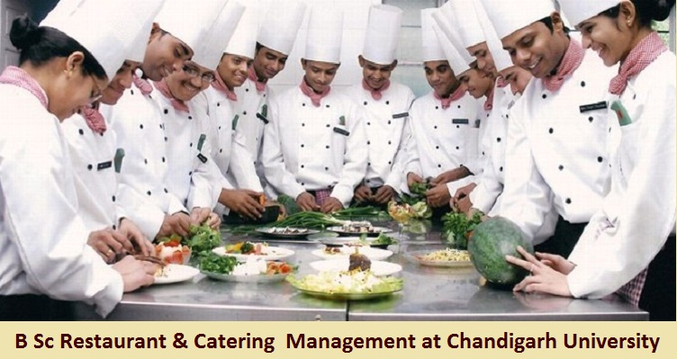 B Sc Restaurant and Catering Management Admission at chandigarh University