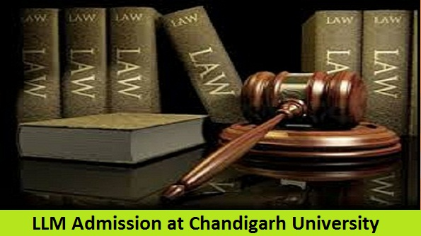 Master of Law Admission at Chandigarh University