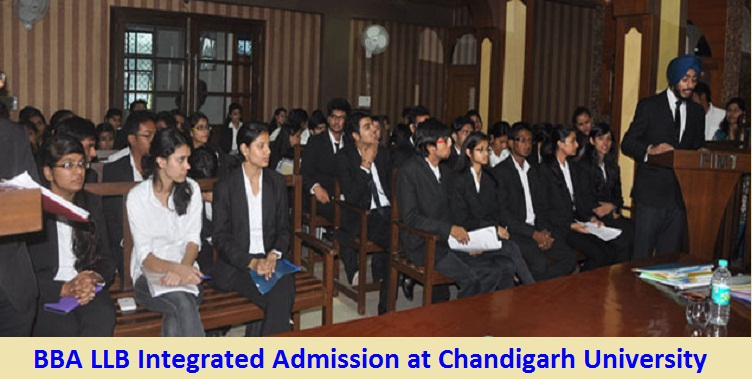 BBA LLB Integrated Admission at Chandigarh University