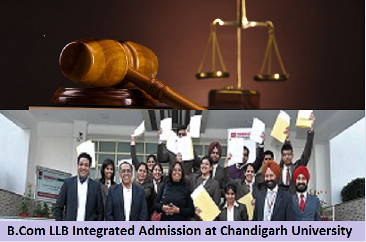 B Com LLB Integrated Admission at Chandigarh University