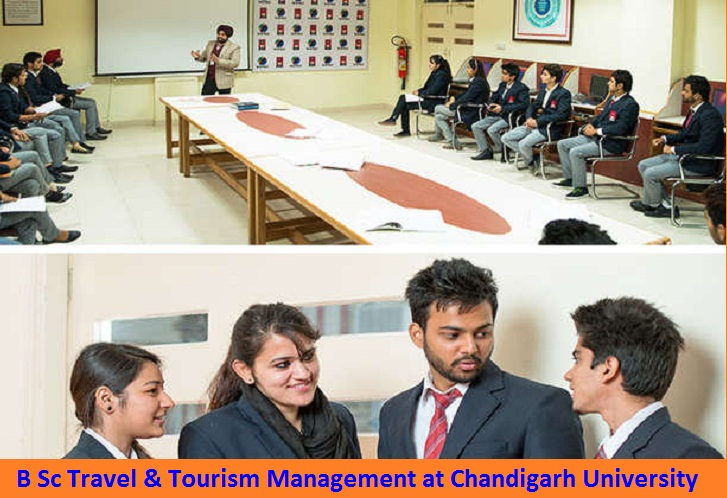 B Sc Travel and Tourism Management Admission at Chandigarh University