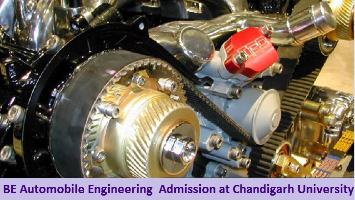 BE Automobile Engineering Admission at Chandigarh University