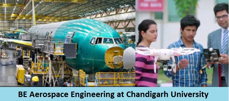 BE Aerospace Engineering Admission at Chandigarh University