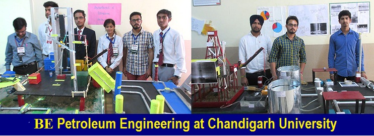BE Petroleum Engineering Admission at Chandigarh University