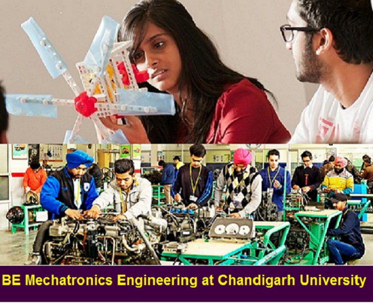 BE Mechatronics Engineering Admission at Chandigarh University