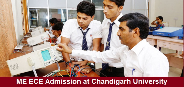 ME Electronics and Communication Engineering Admission at Chandigarh University
