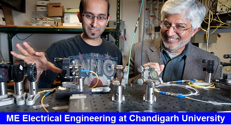 ME Electrical Engineering Admission at Chandigarh University
