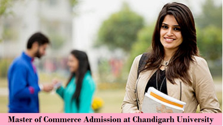 Master of Commerce Admission at Chandigarh University