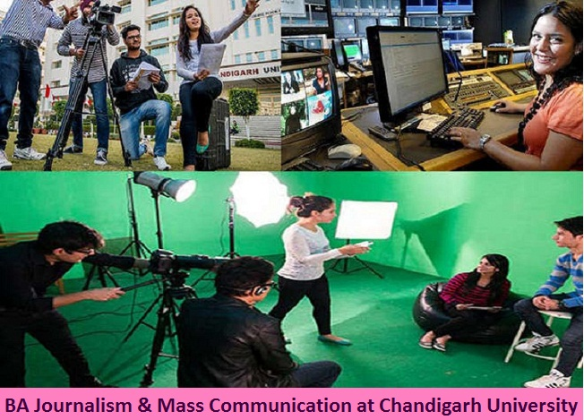B A Journalism and Mass Communication Admission at Chandigarh University