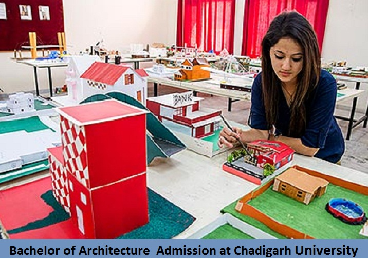 Bachelor of Architecture Admission at Chandigarh University