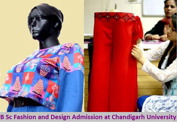 B Sc Fashion and Design Admission at Chandigarh University