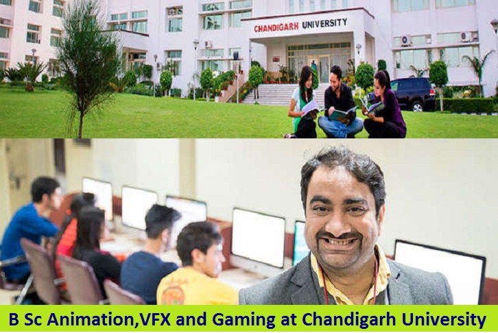 B Sc Animation VFX and Gaming Admission at Chandigarh University