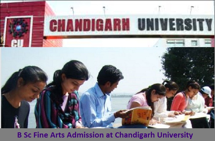 B Sc Fine Arts Admission at Chandigarh University