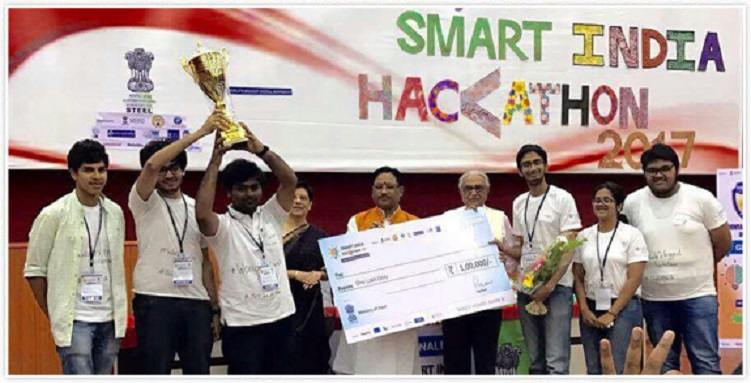 Next Tech Lab from SRM University Dominates Smart India Hachathon 2017