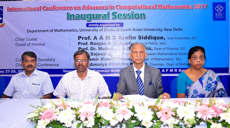 Conference on Advances in Computational Mathematics began at DU