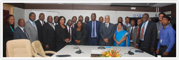 Zimbabwe Minister leads high powered delegation to SRM University