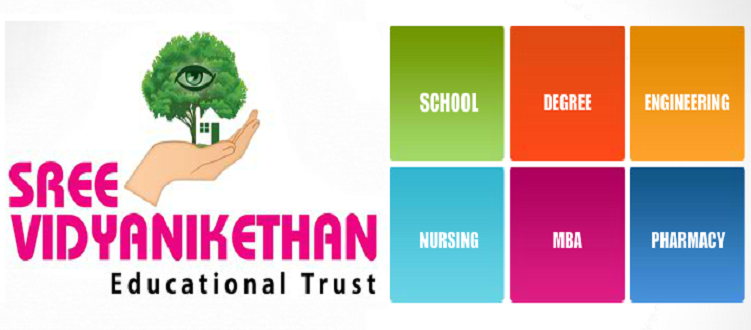 Sree Vidyanikethan, KG to PG Admission Open