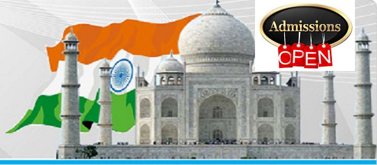 Final call for admission in India under 2017